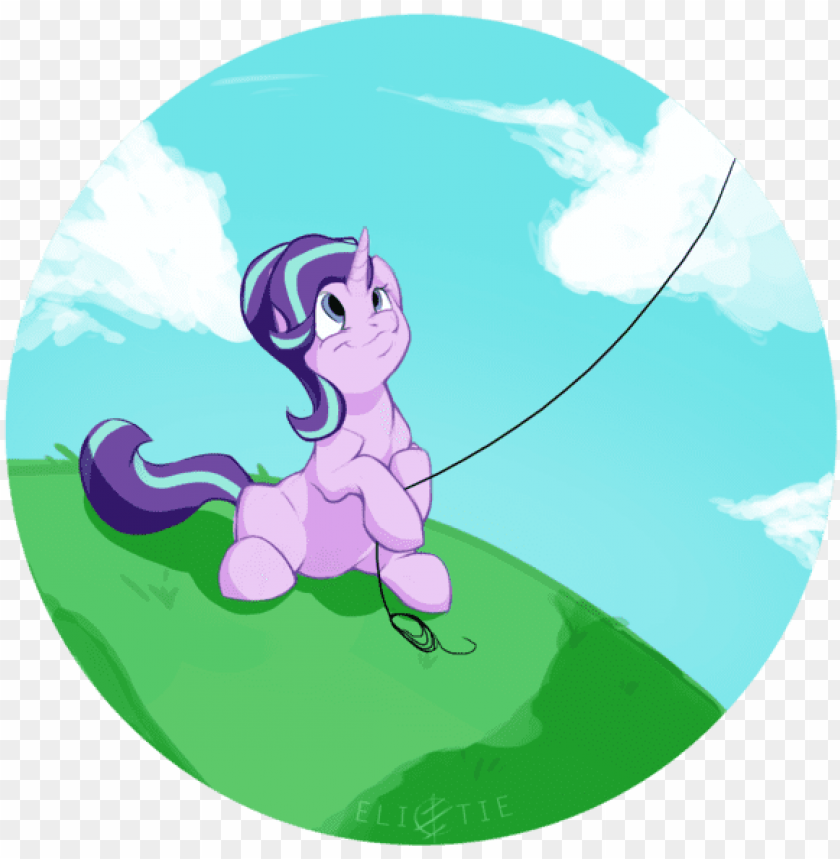 free PNG elicitie, female, grass, kite, kite flying, mare, pony, - starlight theatre PNG image with transparent background PNG images transparent