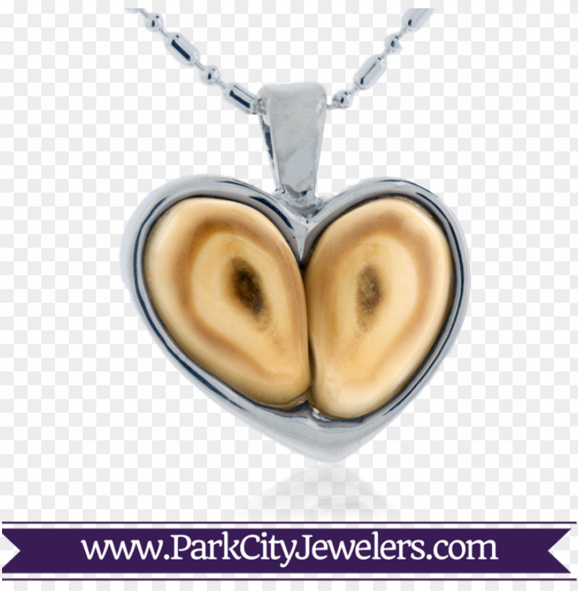free PNG elk ivory heart pendant - elk ivory and diamond ri PNG image with transparent background PNG images transparent