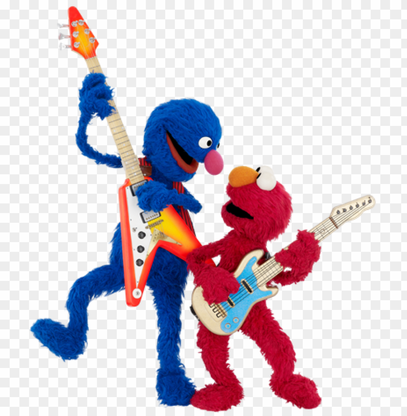 free PNG elmo represents a new era of sesame street, one he's - grover sesame street guitar PNG image with transparent background PNG images transparent