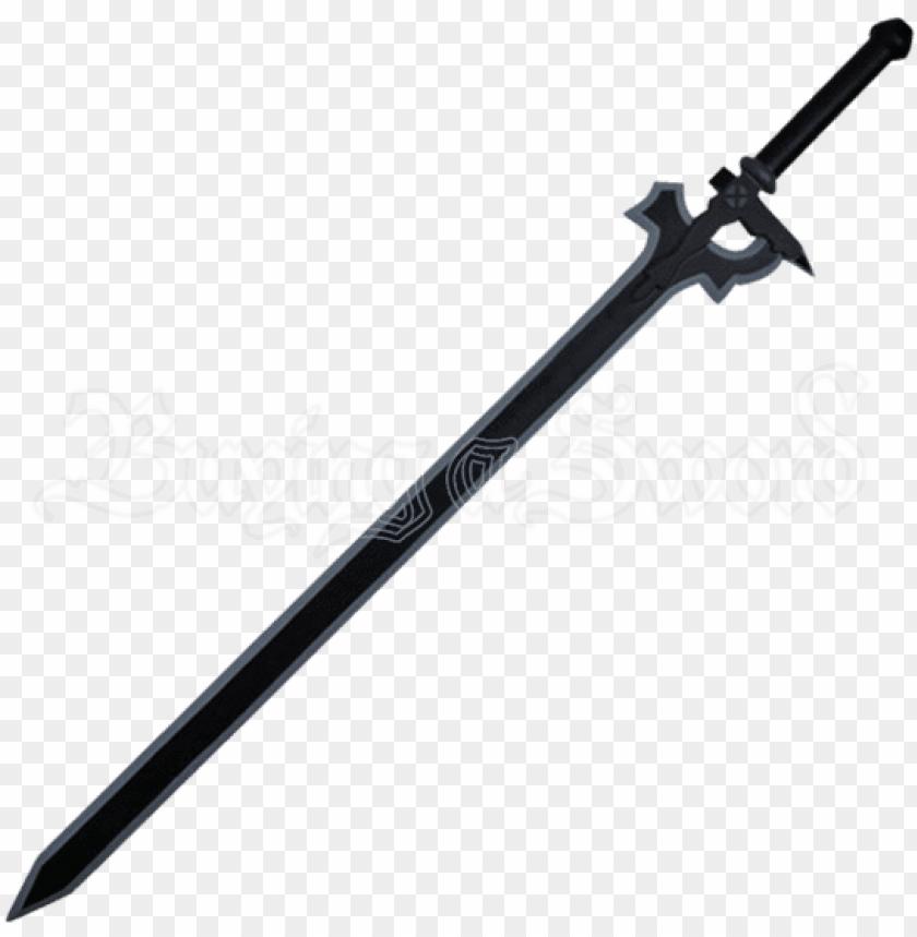free PNG elucidator cosplay sword sao medieval swords functional - kirito sword elucidator PNG image with transparent background PNG images transparent
