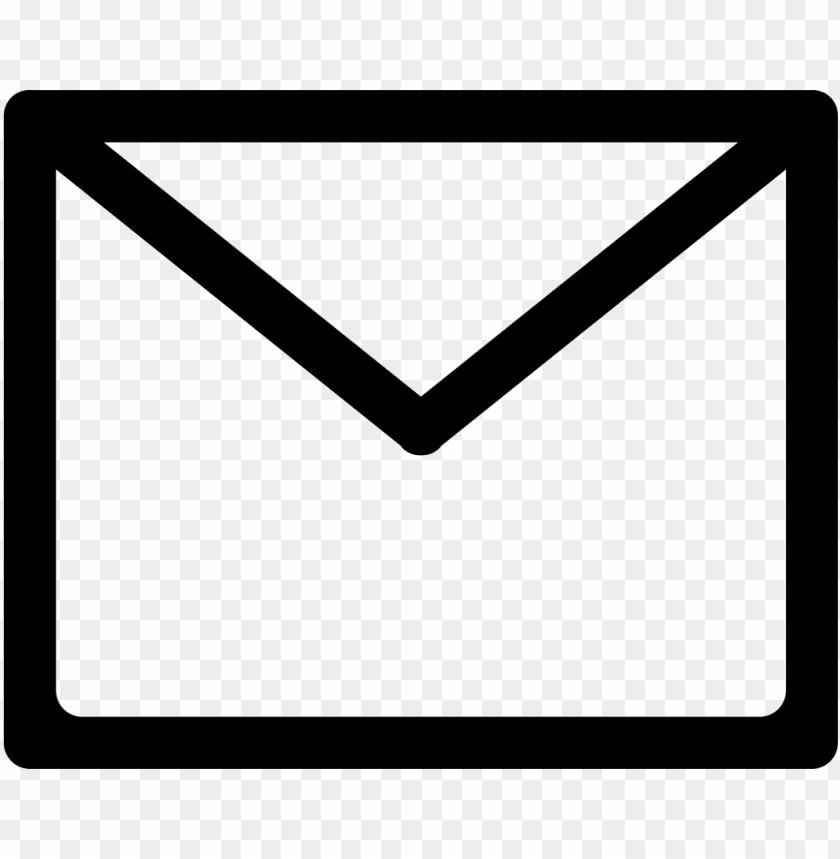 free PNG email envelope back outline svg  icon free- email icon outline png - Free PNG Images PNG images transparent