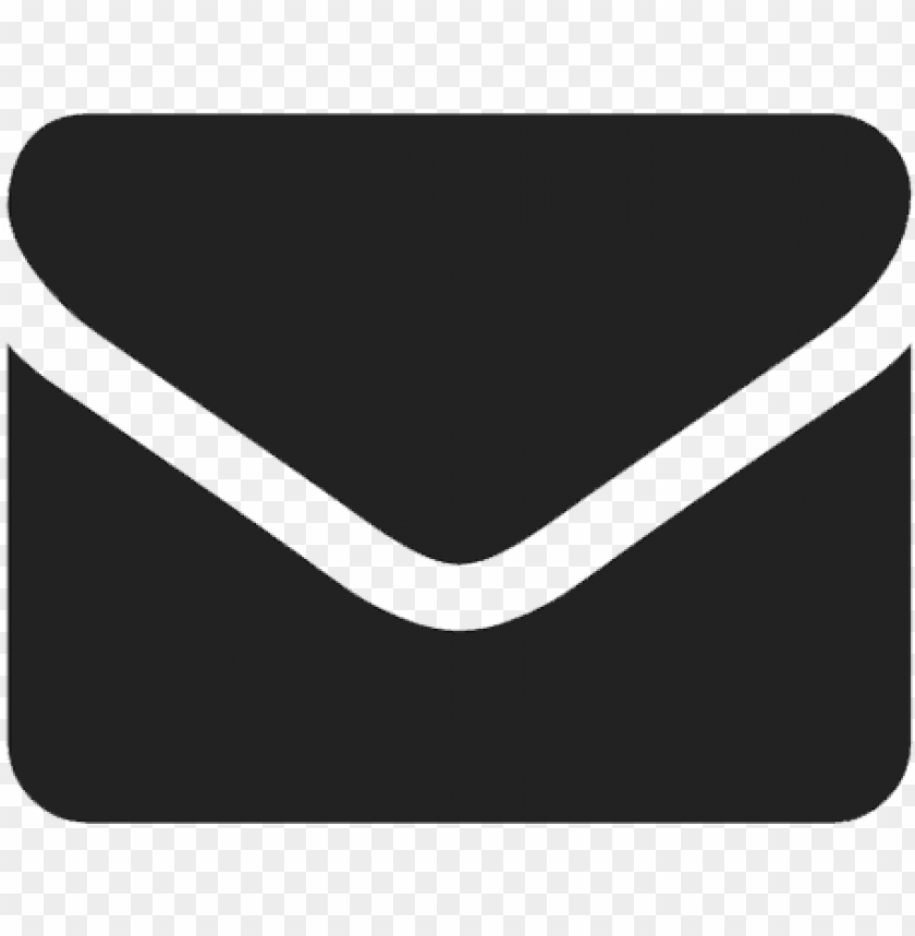 free PNG email flat icon black PNG image with transparent background PNG images transparent