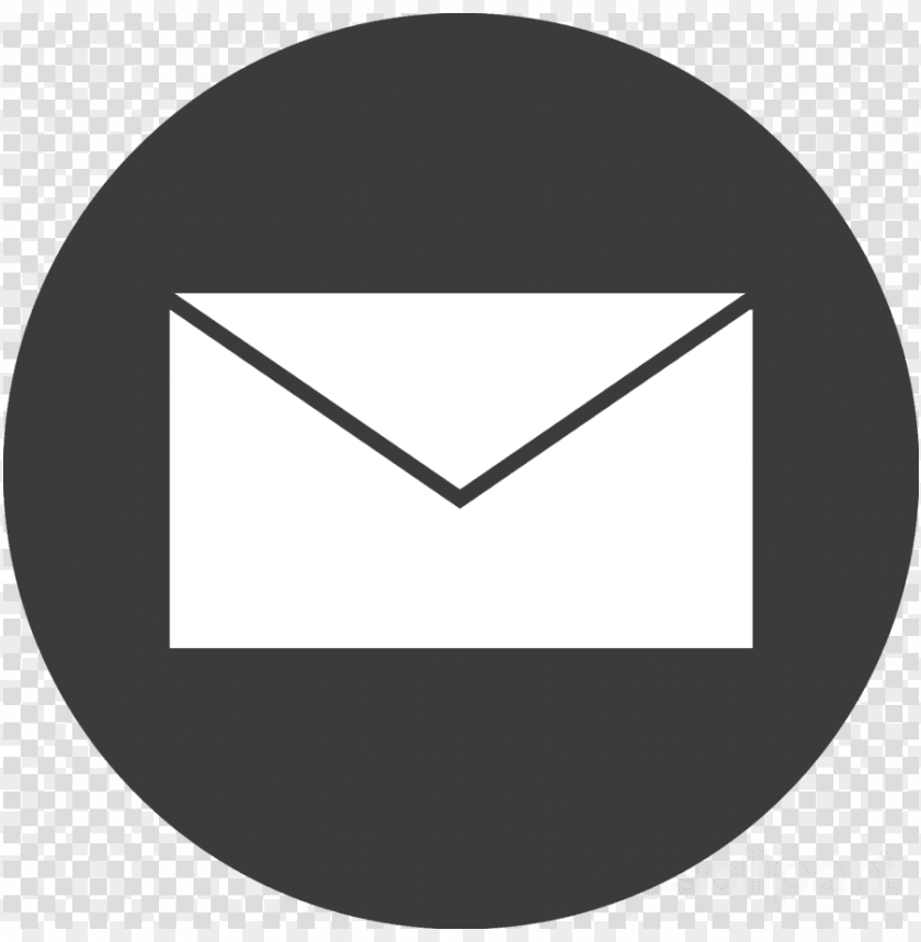free PNG email icon blackcomputer icons email - mail icon grey circle png - Free PNG Images PNG images transparent