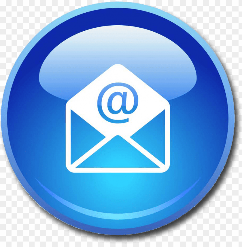 free PNG email icon  blue 9vzn7mz2 - email icon png - Free PNG Images PNG images transparent