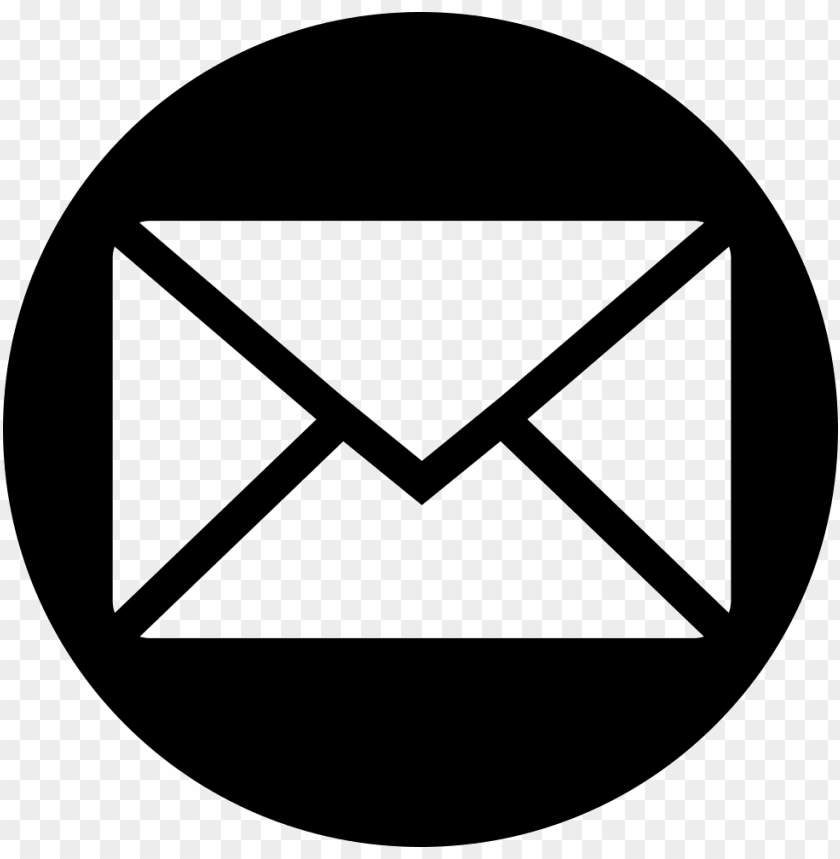 free PNG email icon vector circle PNG image with transparent background PNG images transparent