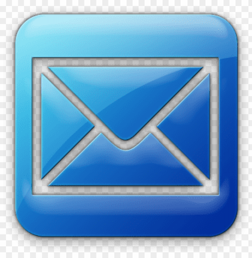 free PNG email icons blue square - email icon png - Free PNG Images PNG images transparent