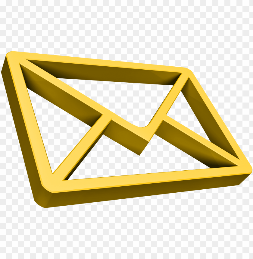 free PNG email icons gold PNG image with transparent background PNG images transparent