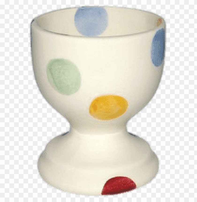free PNG emma bridgewater polka dot egg cup PNG image with transparent background PNG images transparent
