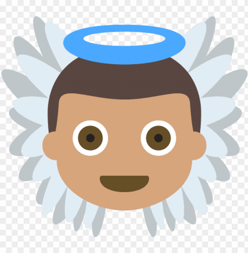 free PNG emoji angel human skin color meaning light skin - emoji angel human skin color meaning light skin PNG image with transparent background PNG images transparent