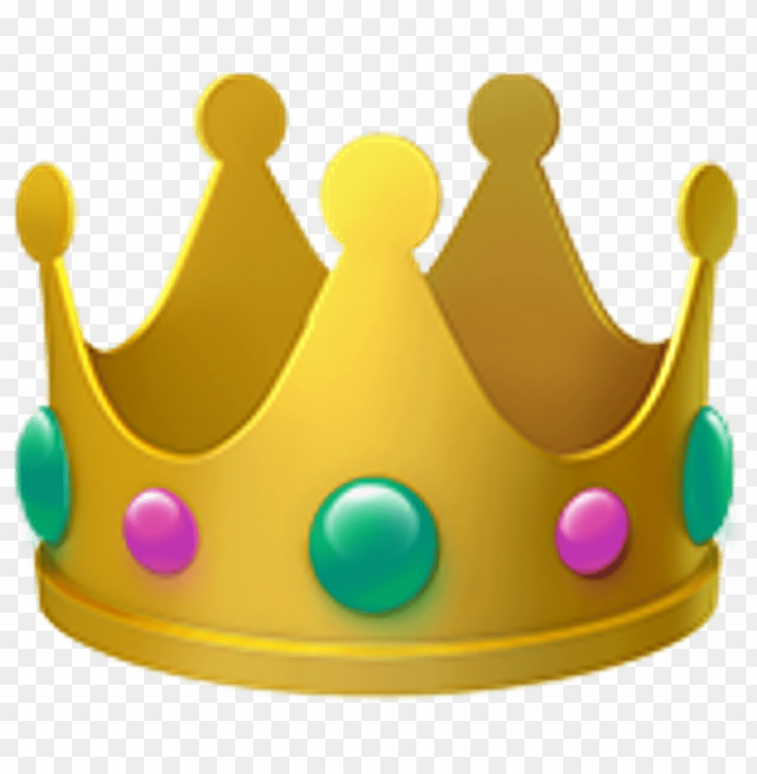 Emoji Crown Ios Crown Emoji Png Image With Transparent Background Toppng