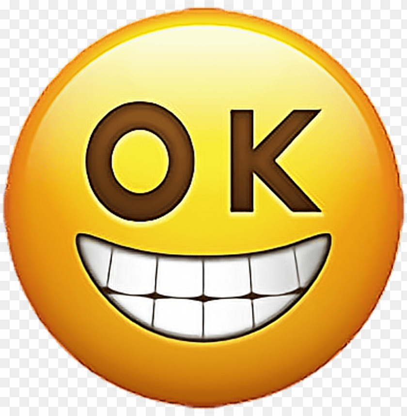 Emoji Emojis Emojisticker Ok Okemoji Sticker New Emojis 2018 Png Image With Transparent Background Toppng