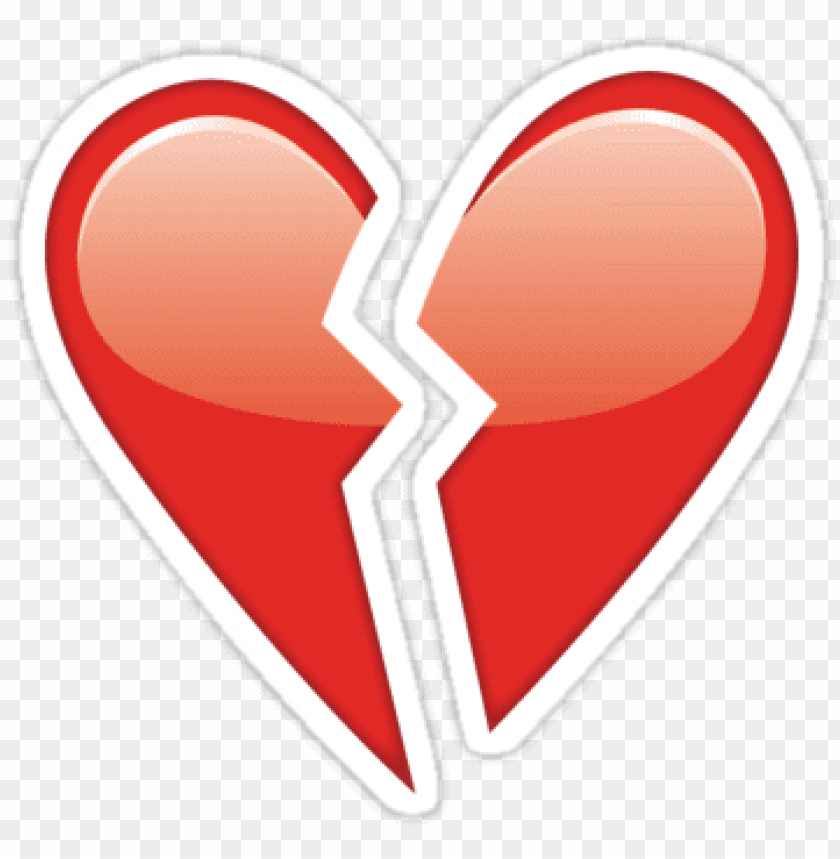 free PNG emoji heart png broken heart emoji - broken heart emoji transparent background PNG image with transparent background PNG images transparent