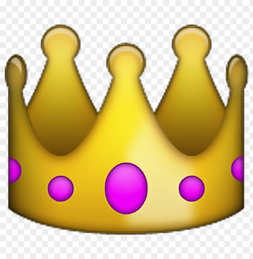 free PNG emoji king png the emoji king sticker - transparent background iphone emoji PNG image with transparent background PNG images transparent
