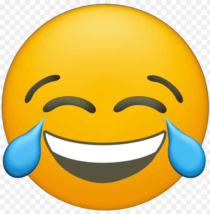 Emoji Laughing Crying Png Image With Transparent Background Toppng