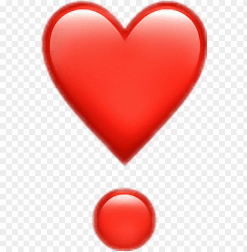 free PNG emoji png iphone red love pictures www picturesboss - iphone love heart emoji PNG image with transparent background PNG images transparent