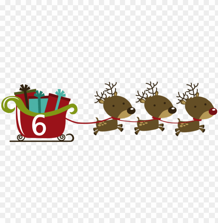 free PNG empty santa sleigh stock illustrations 71 empty santa - christmas reindeers with sleigh PNG image with transparent background PNG images transparent