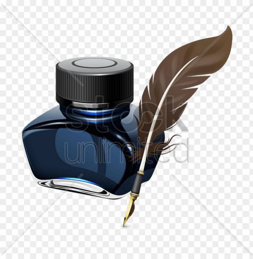 free PNG en and ink bottle png transparent pen and ink bottle - ink bottle and pe PNG image with transparent background PNG images transparent