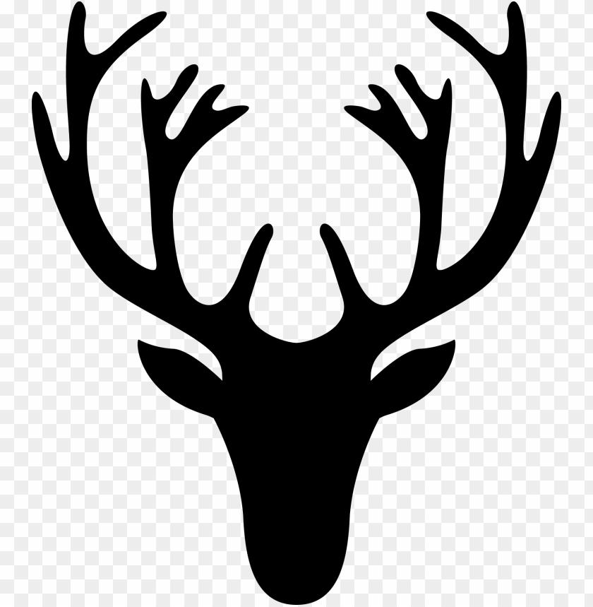 free PNG en este link y en este otro - deer head deer silhouette PNG image with transparent background PNG images transparent