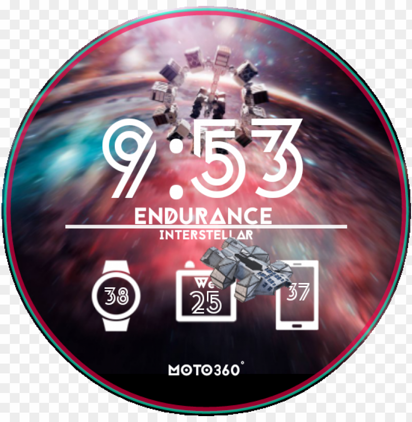 free PNG endurance interstellar watch face preview PNG image with transparent background PNG images transparent