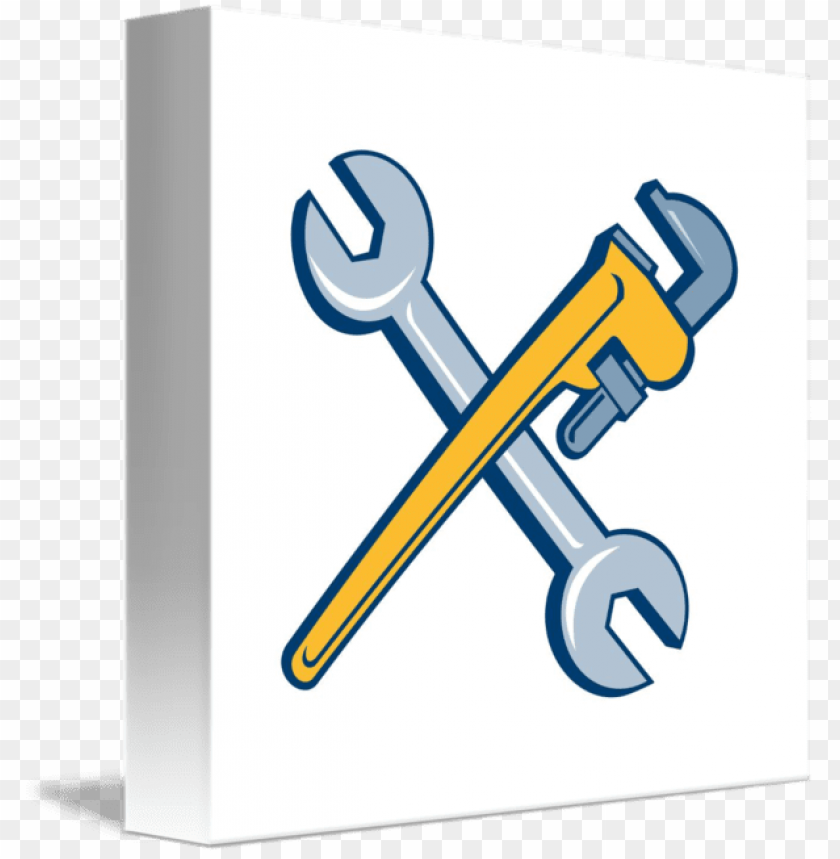 free PNG engine clipart crossed wrench - pipe wrench crossed PNG image with transparent background PNG images transparent