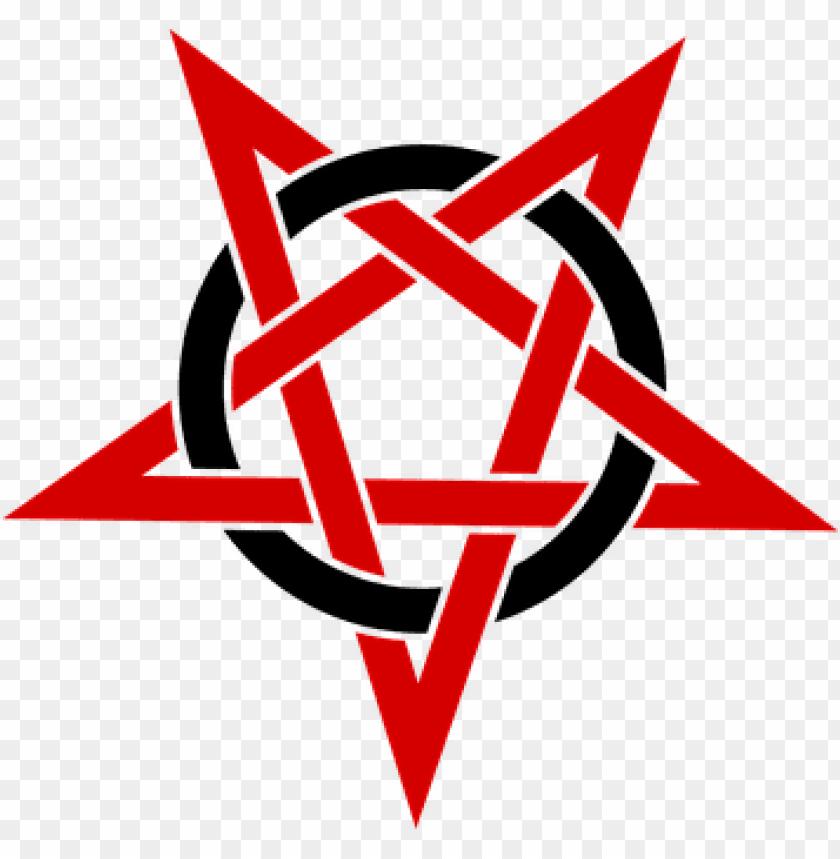 free PNG entagram rouge spot symbol pentalpha pent - pentagram PNG image with transparent background PNG images transparent