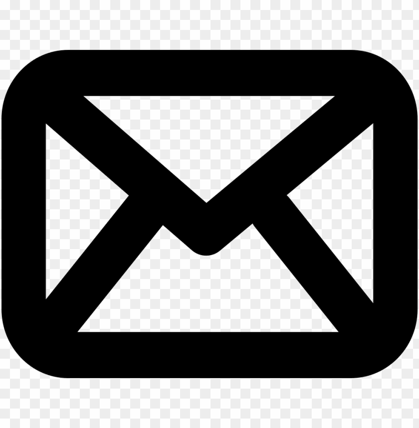 free PNG envelope outline email interface symbol comments PNG image with transparent background PNG images transparent