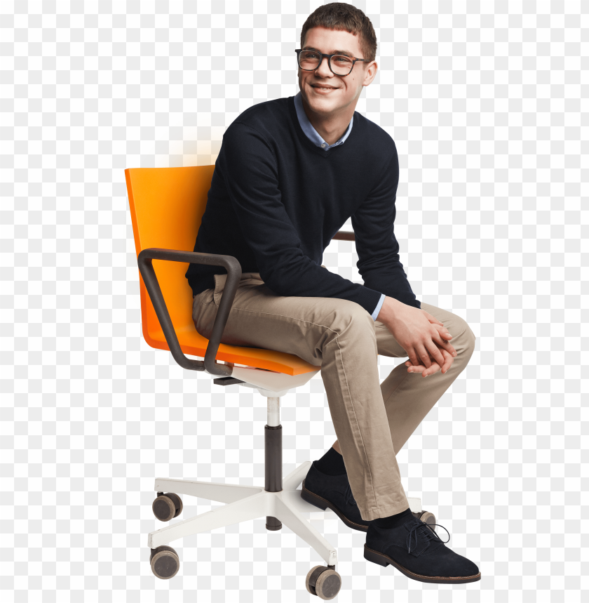 free PNG eople sitting on chairs png person sitting in chair - man sitting in chair PNG image with transparent background PNG images transparent