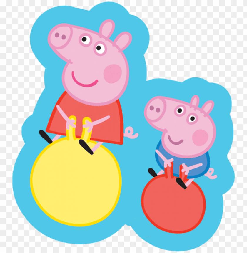 Eppa Pig Balloons Png Clip Art Freeuse Stock Peppa Pig