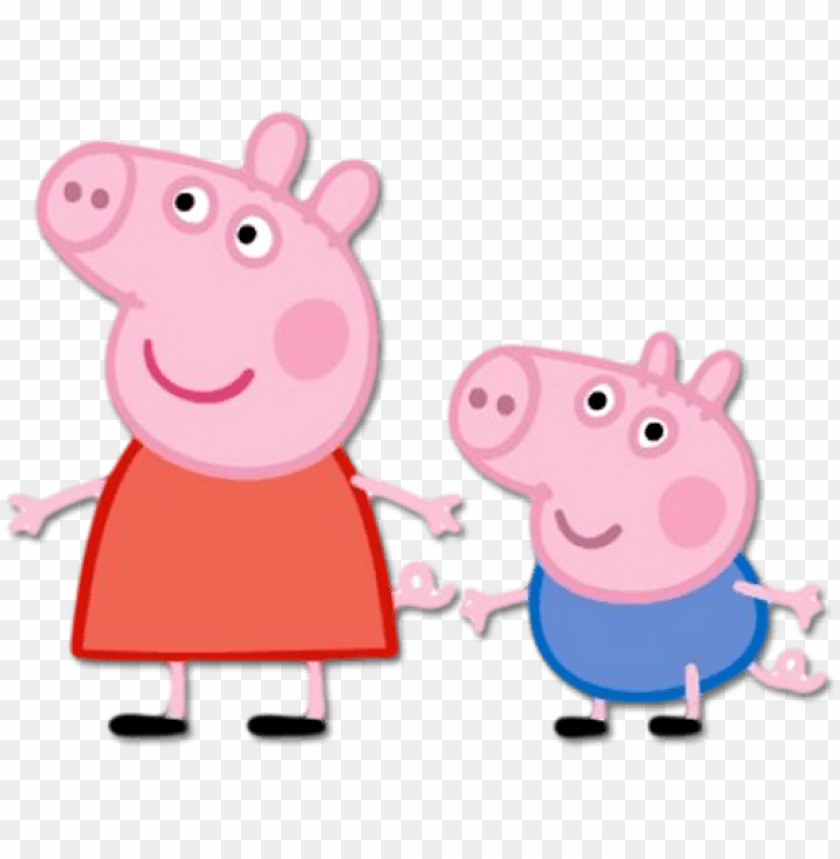 Eppa Pig Png Pack Peppa Pig From The Front Png Image With
