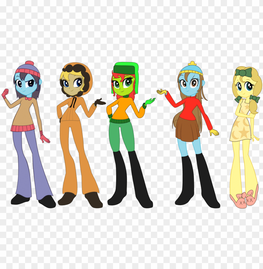 free PNG equestria girls south park PNG image with transparent background PNG images transparent
