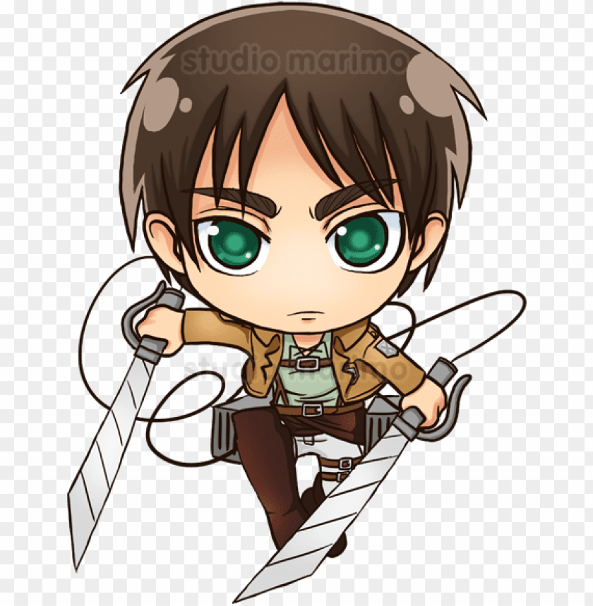 Eren Drawing Kawaii Image Transparent Chibi Attack On Titan Ere Png Image With Transparent Background Toppng