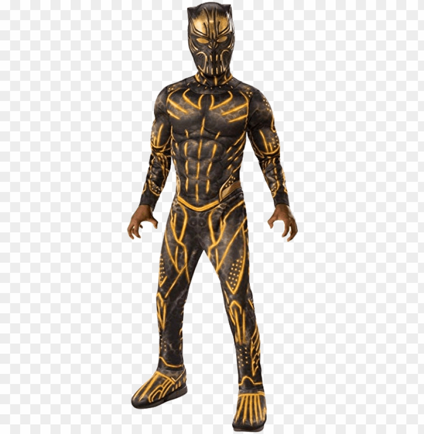 free PNG erik killmonger black panther costumes - black panther killmonger costume PNG image with transparent background PNG images transparent