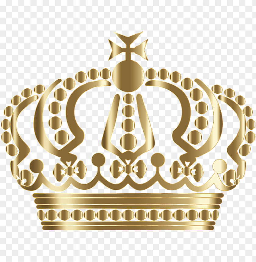 free PNG erman, crown, royal, king, queen, royalty, head - gold crown vector free PNG image with transparent background PNG images transparent