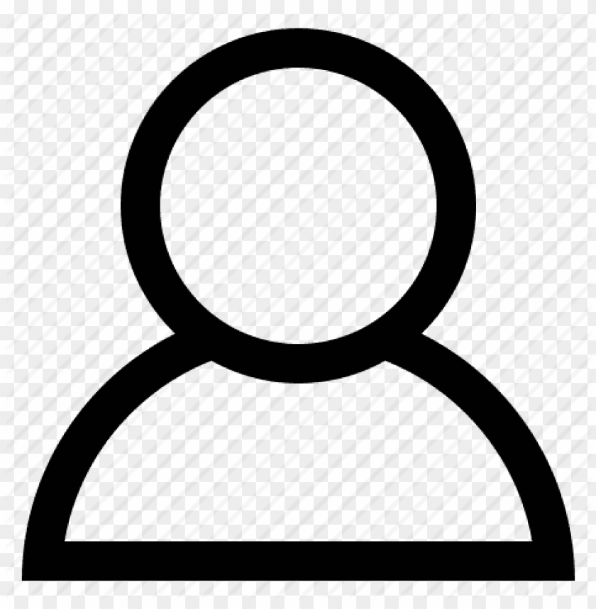 free PNG erson outline icon png - person icon png white PNG image with transparent background PNG images transparent