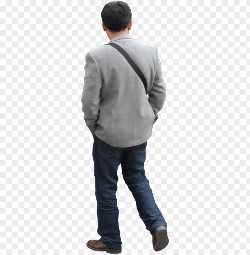 free PNG erson walking photoshop - person from behind PNG image with transparent background PNG images transparent