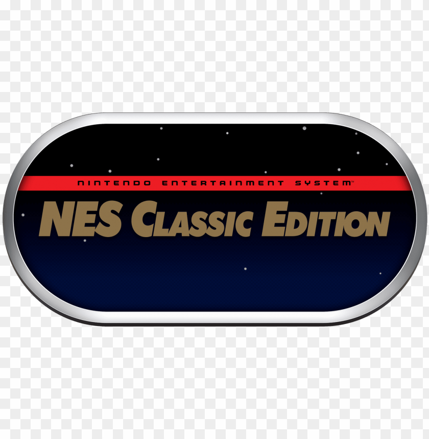 free PNG es classic mini logo 1b - nintendo entertainment system mini classic editio PNG image with transparent background PNG images transparent