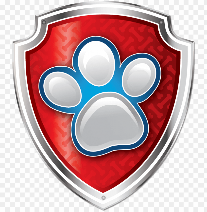 free PNG escudo de paw patrol png - paw patrol paw badge PNG image with transparent background PNG images transparent
