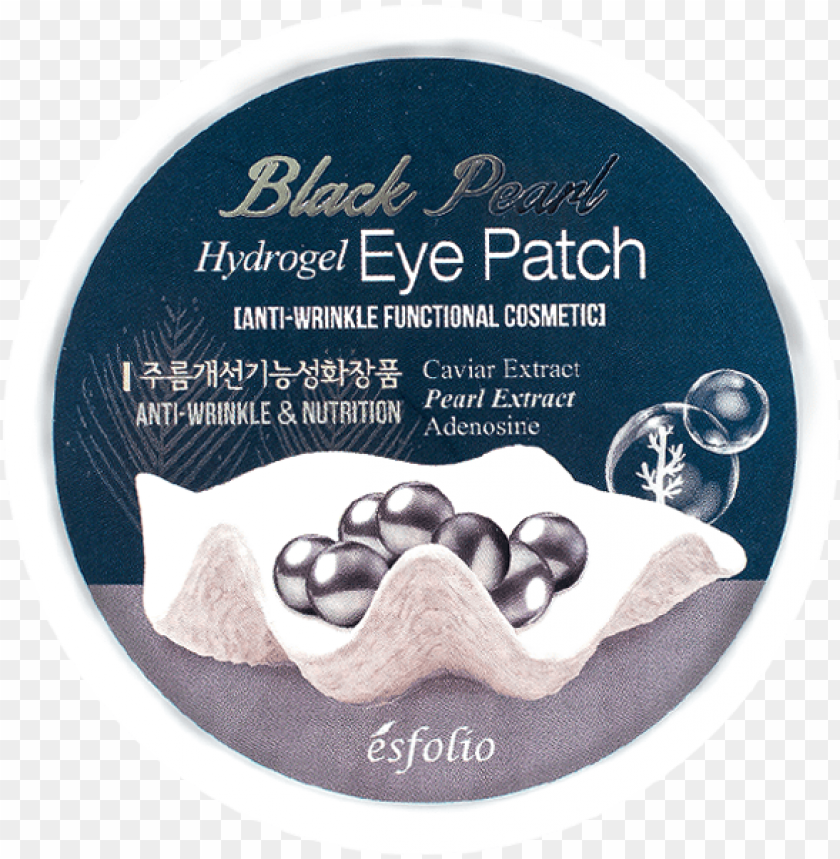 free PNG esfolio black pearl hydrogel eye patch PNG image with transparent background PNG images transparent