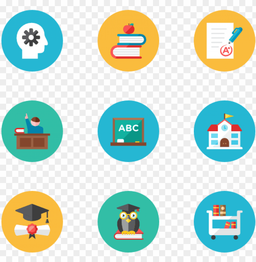 free PNG essential icon family flat - learning icons PNG image with transparent background PNG images transparent