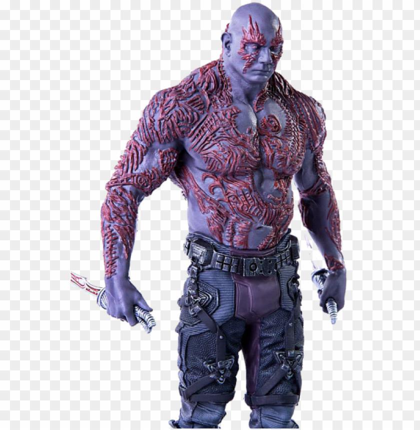 Estátua Drax Guardiões Da Galaxia Art Scale 110 Iron