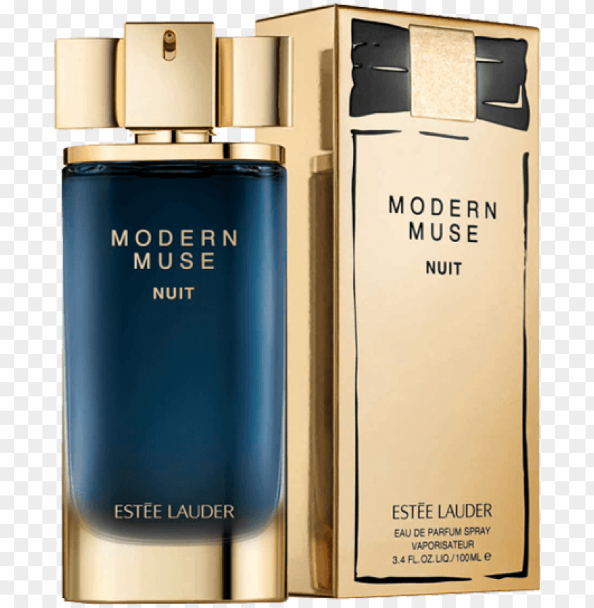 free PNG estee lauder modern muse nuit 100ml edp for women - modern muse nuit estee lauder PNG image with transparent background PNG images transparent
