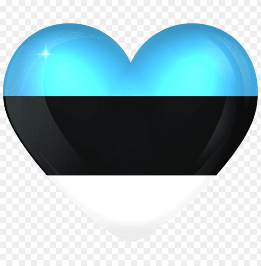 free PNG Download estonia large heart flag clipart png photo   PNG images transparent