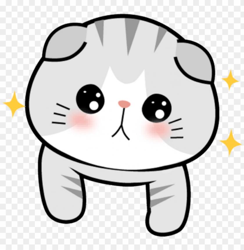 Et Animal Cat Gato Chibi Kawaii Cute Sonrojo Blush Gato