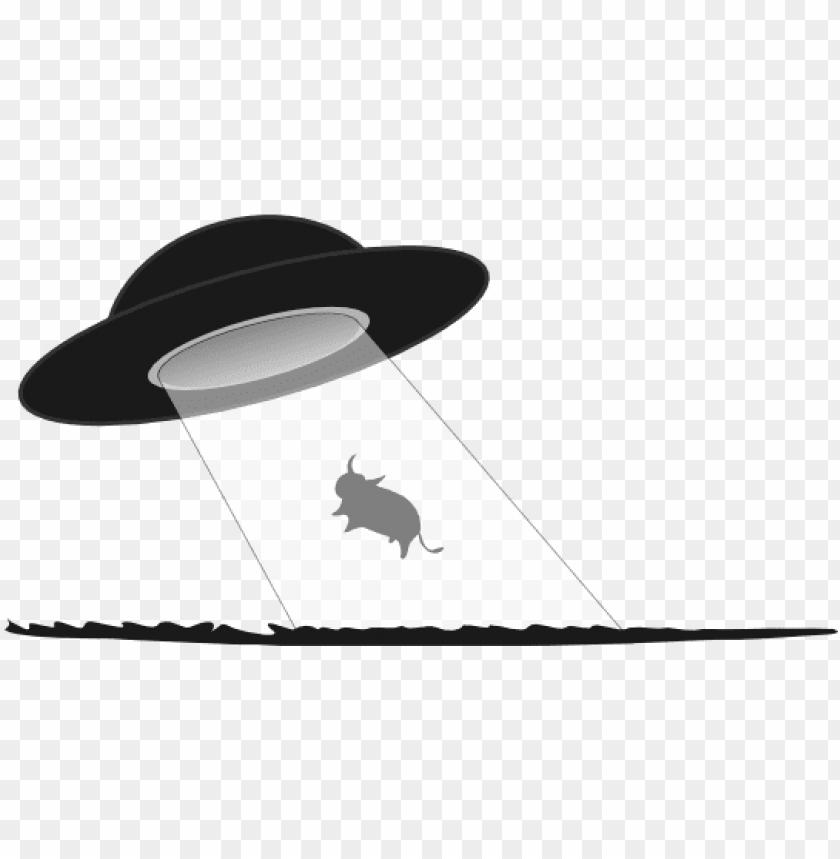free PNG et » clip art » cow abduction black white line art - ufo black and white clip art PNG image with transparent background PNG images transparent
