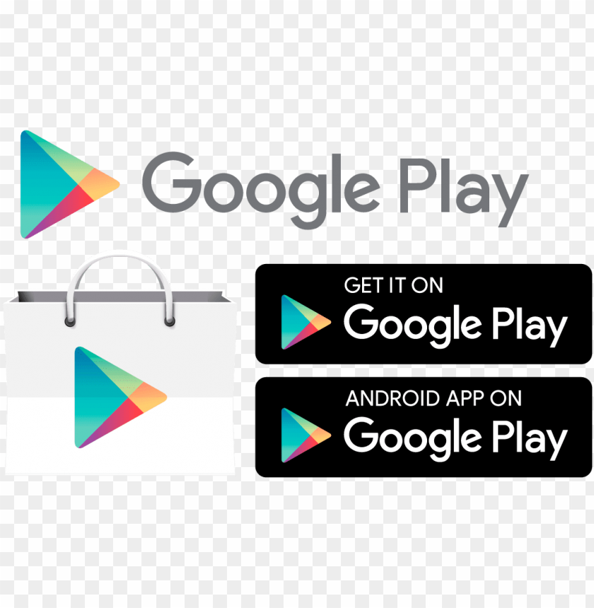 free PNG et it on google play logo png svg freeuse library - icon google play vector PNG image with transparent background PNG images transparent
