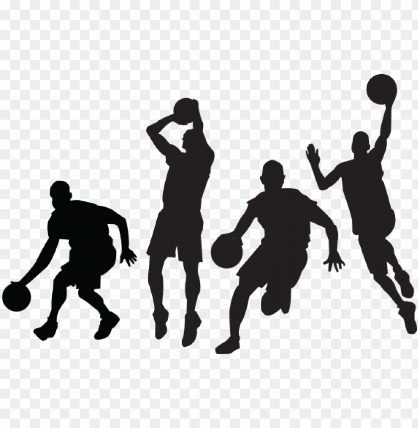 free PNG etball clipart basketball - basketball player silhouette PNG image with transparent background PNG images transparent
