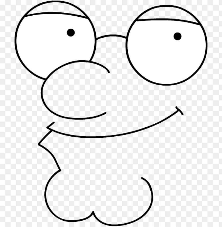 eter griffin face - peter griffin face PNG image with transparent background@toppng.com