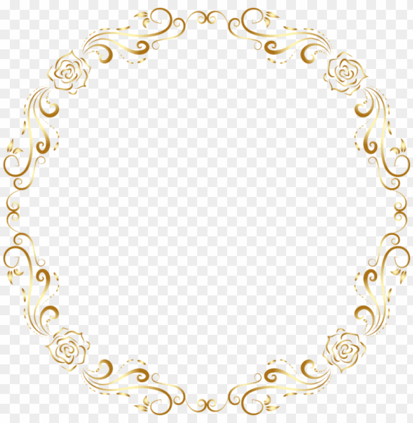 Etiquetas Redondas Round Christmas Frame Png Image With