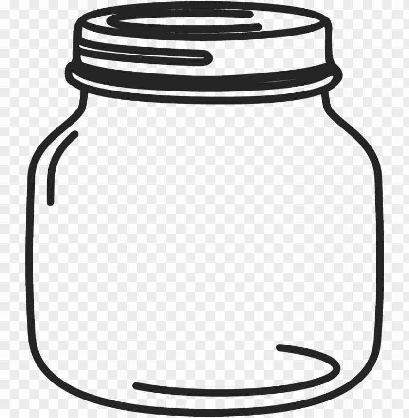 free PNG etite mason jar rubber stamp - transparent mason jar clip art PNG image with transparent background PNG images transparent