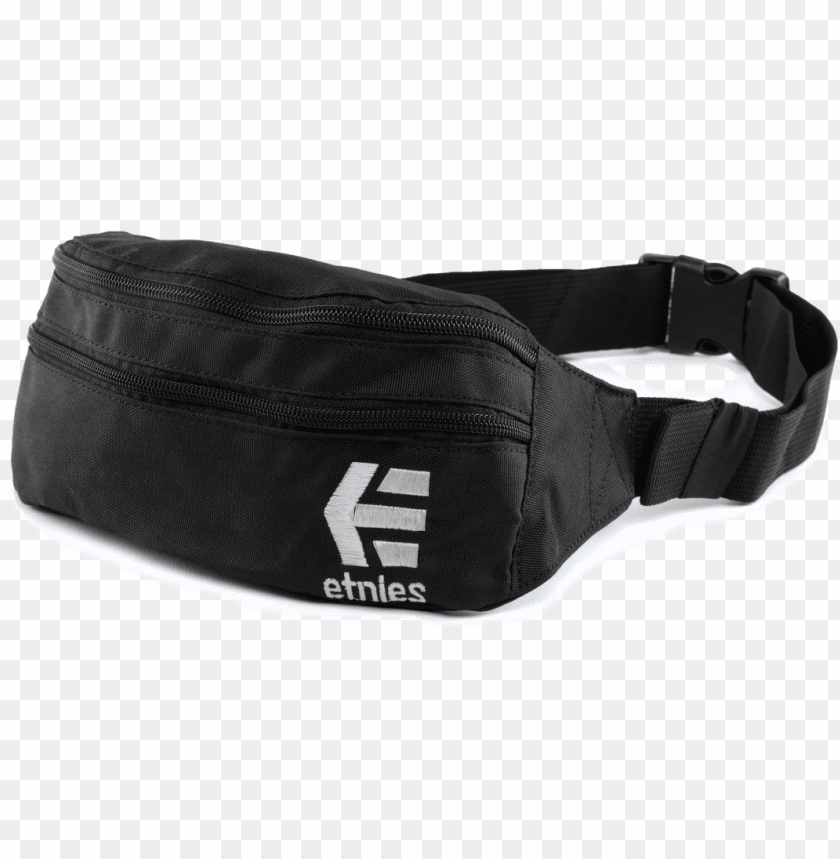 free PNG etnies fanny pack, black/white, size no size PNG image with transparent background PNG images transparent